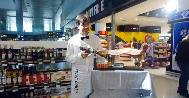 Duty Free at Malaga airport