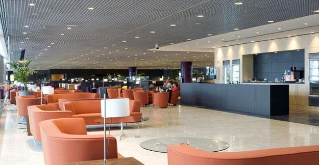 Malaga airport VIP lounge