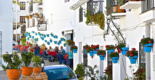 Mijas narrow streets