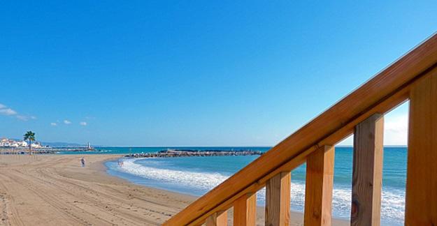 El Duque beach, Nueva Andalucia