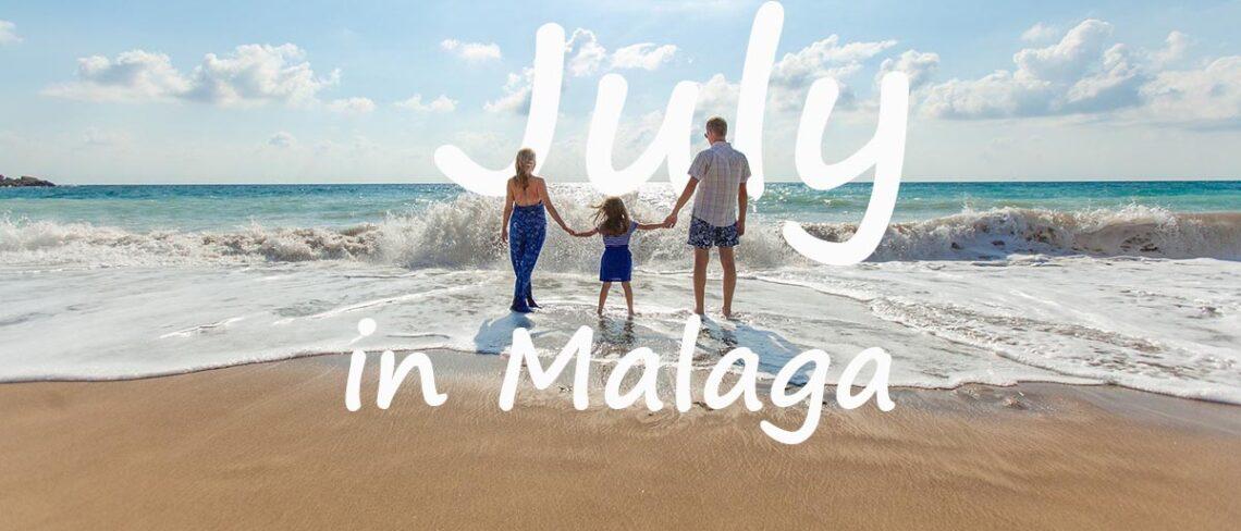Malaga in July