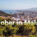 Visiting Malaga in October
