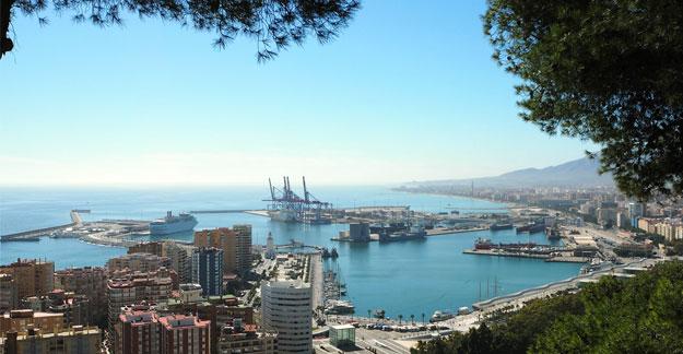 Hafen von Málaga