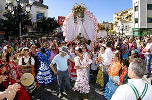Traditional Pilgrimage of San Miguel 2014