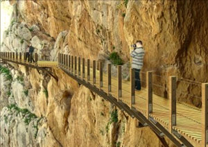 Der Königsweg (Caminito del Rey) in Ardales