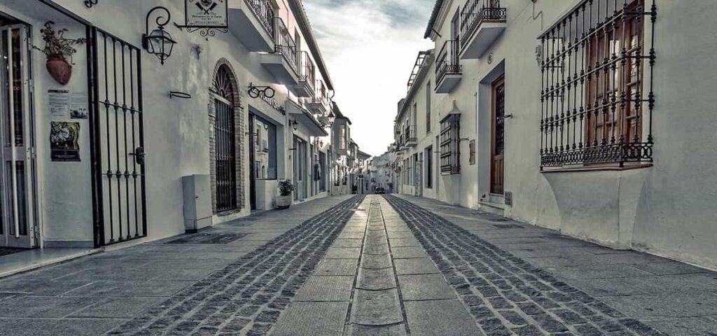 calle en Mijas Pueblo