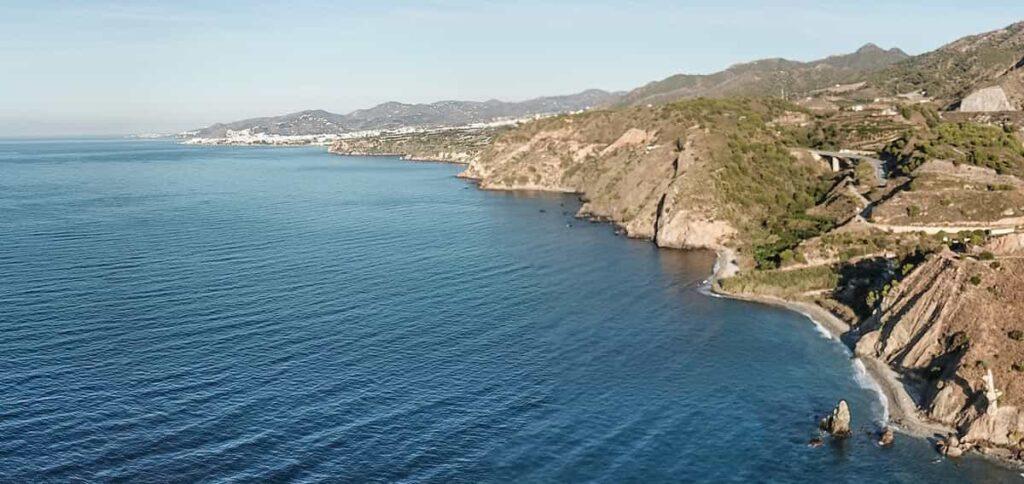 Acantilados de Maro en Nerja