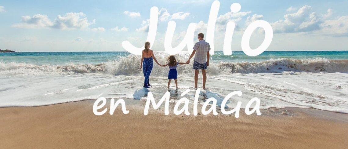 Malaga en julio