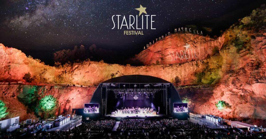 Starlite Marbella in July