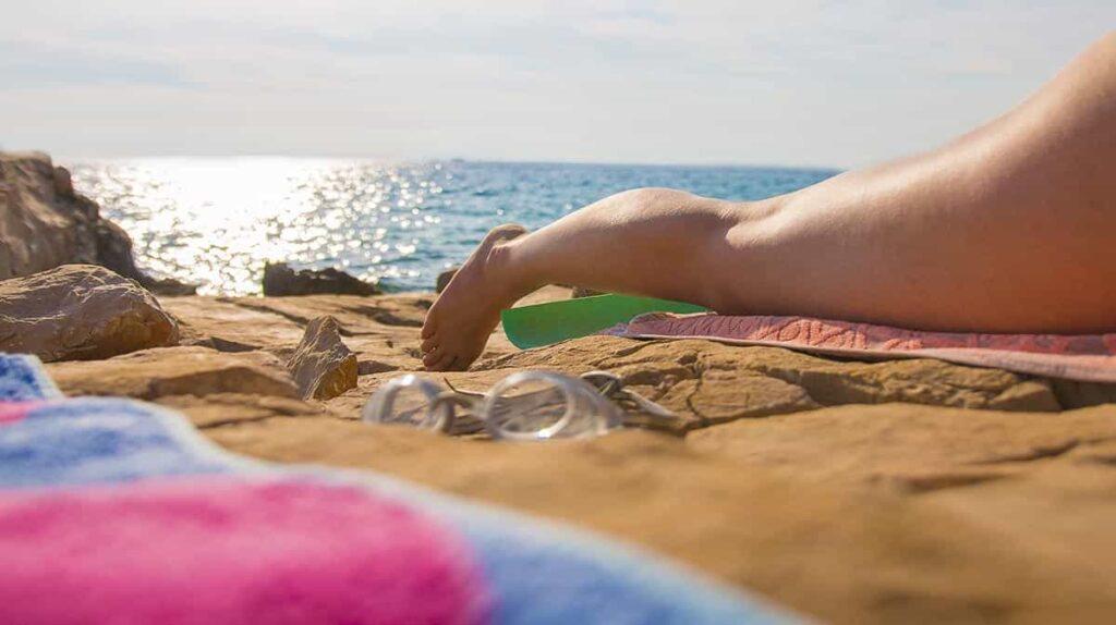 Beach day in Malaga