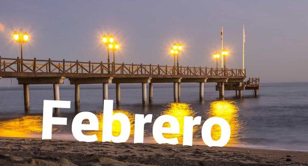 Visitar Málaga en febrero