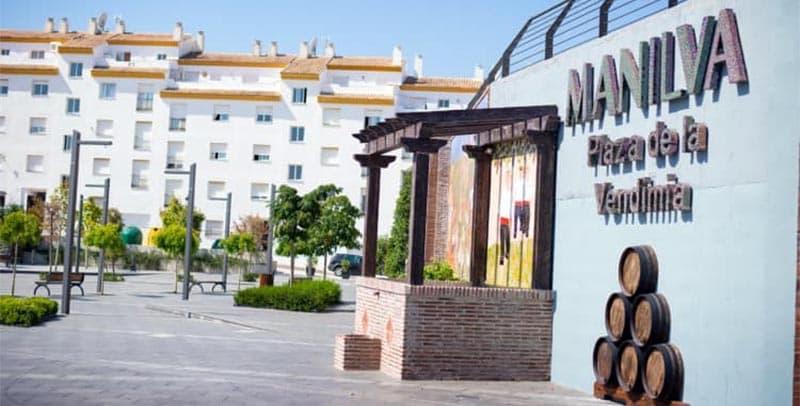 Vendimia square in Manilva