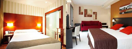 Rooms Malaga hotels three star