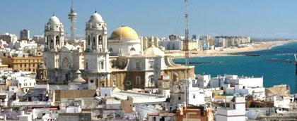 Luxury taxis from Malaga airport to Cadiz