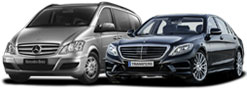 Private taxis and minibuses