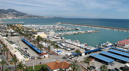 transfer to Fuengirola Marina