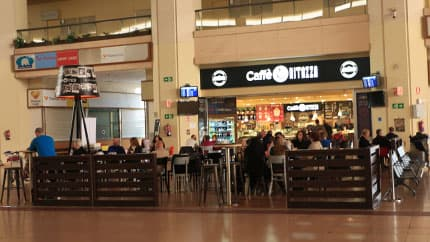 Caffè Ritazza at Malaga airport