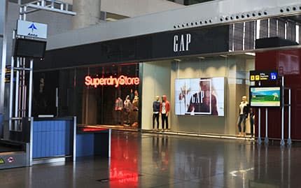 Superdry Store and GAP