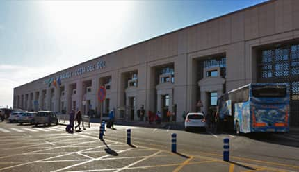 Entrance of the Terminal T2