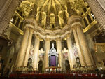 The Cathedral of Malaga inside