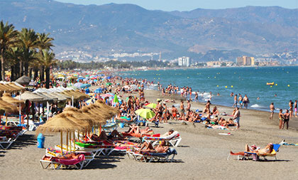Beaches of the Costa del Sol