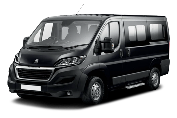 Peugeot Boxer: 16 passengers / 16 luggages / Golf equipment on request