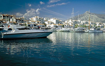 Take a stroll in Puerto Banus